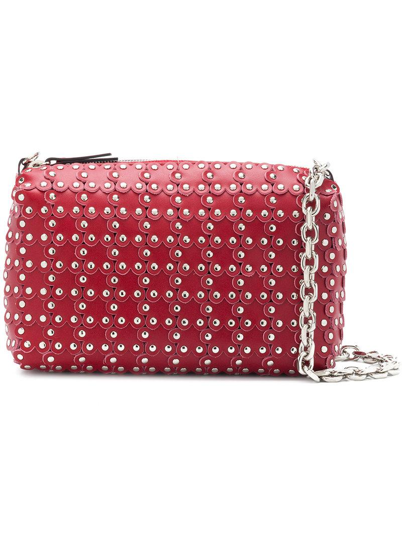 Flowers Puzzle camera bag - Metallic Red Valentino Cheap Footlocker Buy Cheap Price mtAqzmT0A