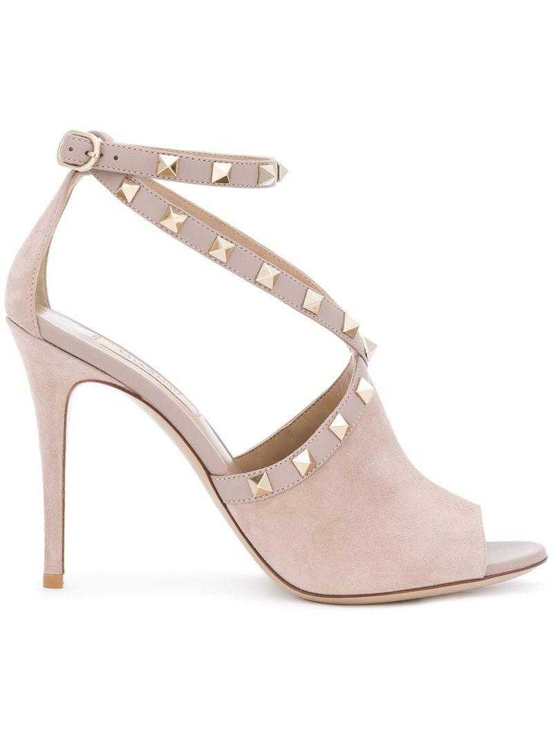 88b9d077f14c Valentino. Women s Garavani Rockstud Sandals