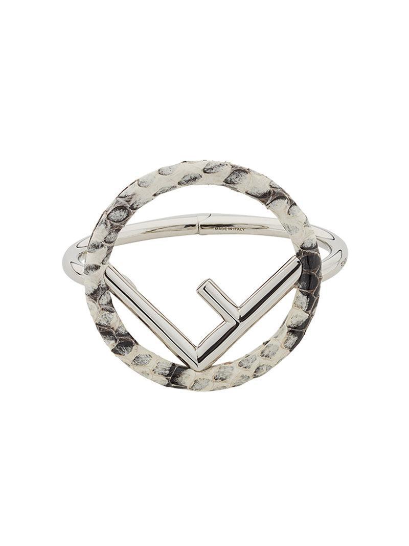 Fendi F Is F bracelet - Metallic bdpytYwPN