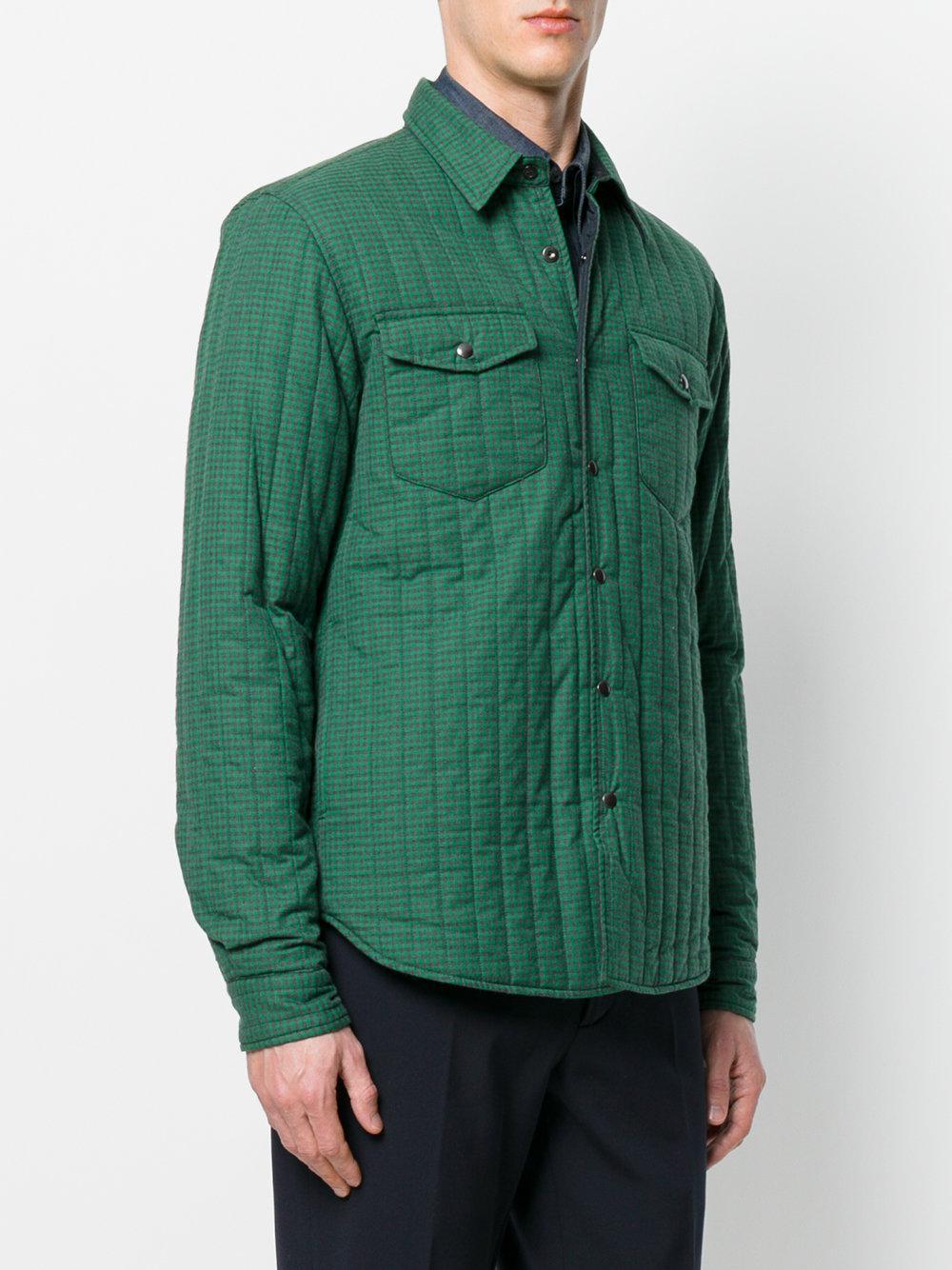 Jacket Bleu Aspesi Button Button Shirt Jacket Shirt wP6Fgg