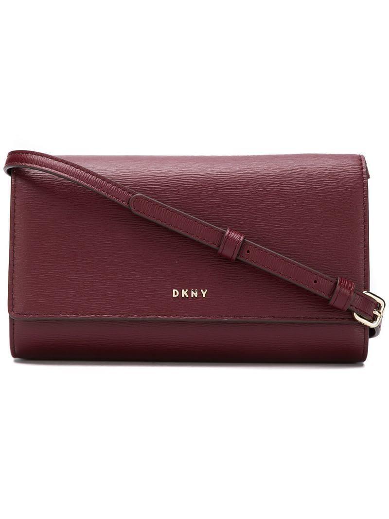 DKNY - Red Logo Cross-body Bag - Lyst. View fullscreen 3627d5d07e475