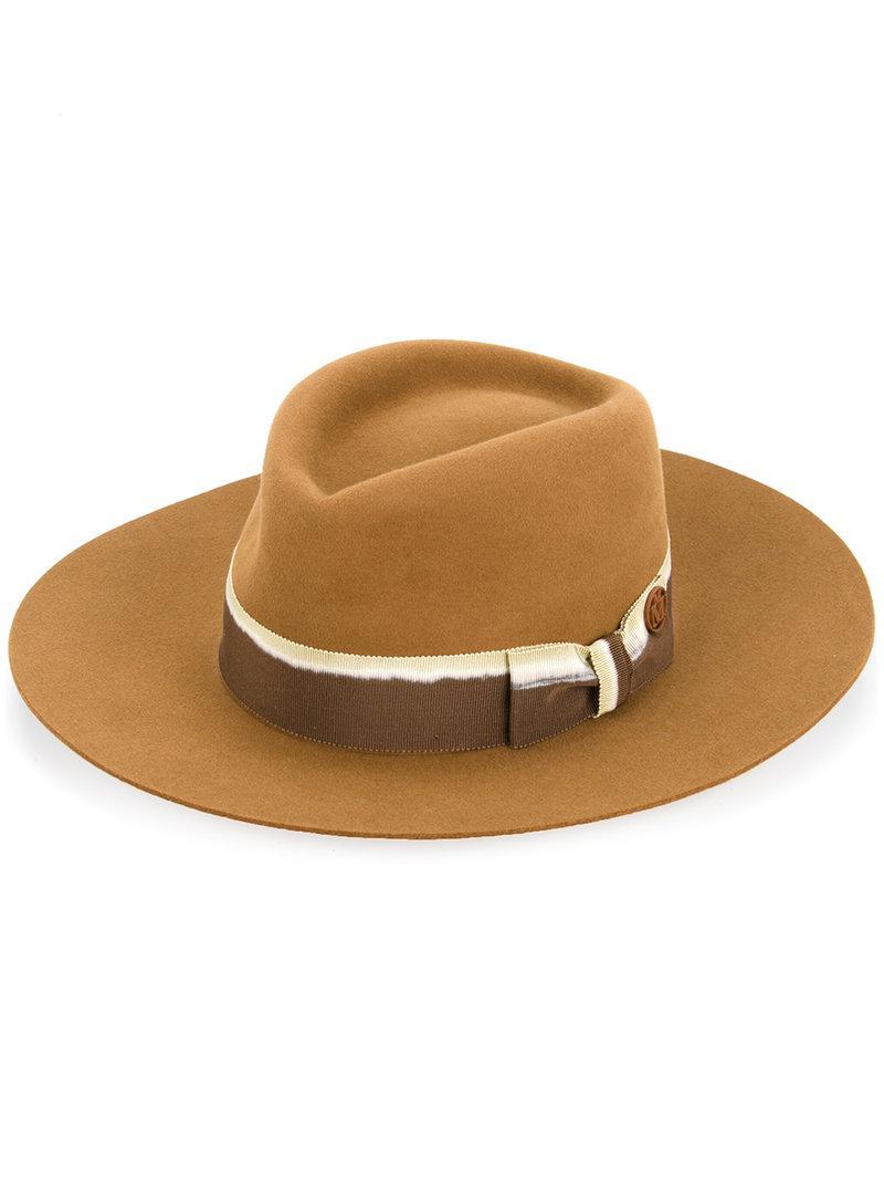 Masculine Plain Lucky Hat Maison Michel juusB