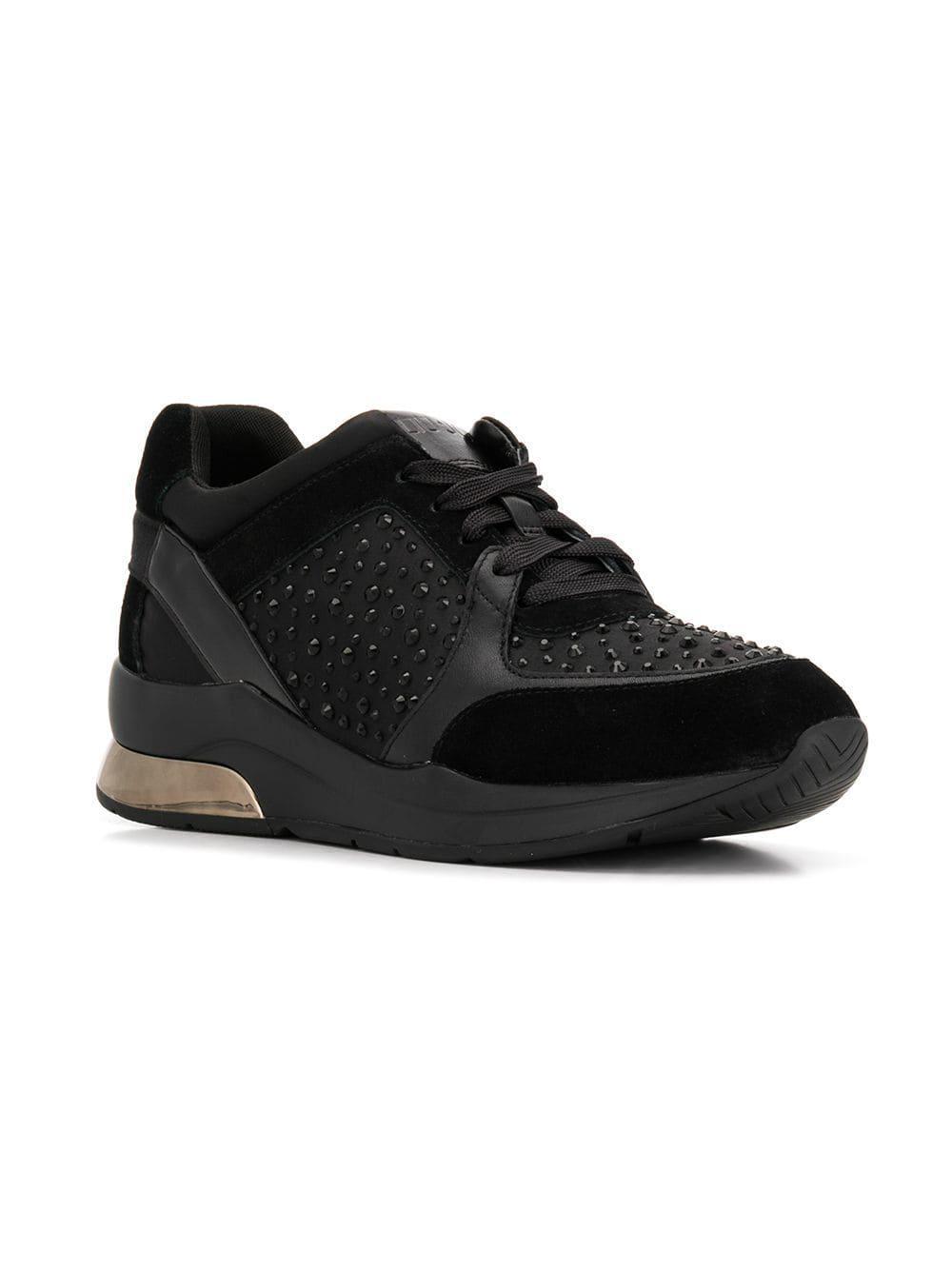 Liu Jo Karlie Sneakers in Black - Lyst f08fe0fbf85