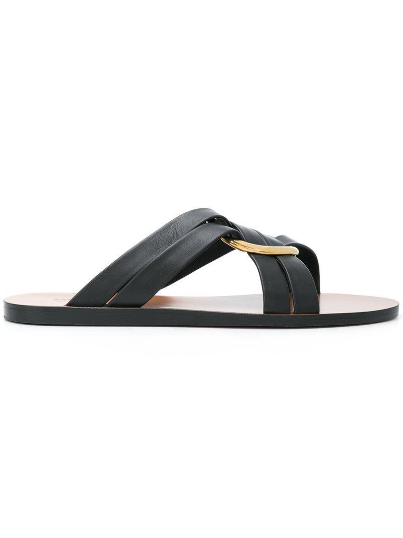 Chloé Ring embellished slippers RCaFA4