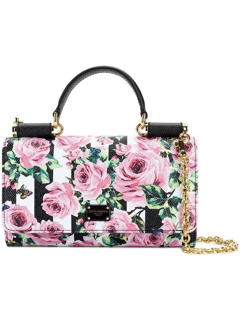 ... Lyst  huge discount c20b9 e579c Dolce Gabbana. Womens Mini Von Wallet  Crossbody Bag ... 702a9639ea