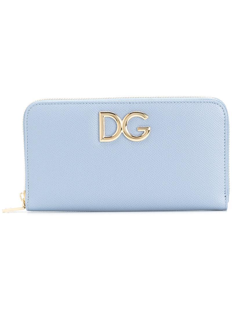 Porte-cartes Zippé - Bleu Dolce & Gabbana YkeuB