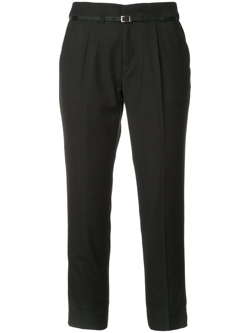 cropped tailored trousers - Black Guild Prime Quality From China Wholesale Amazon mXpdfy