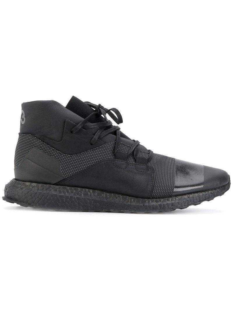 9229d9f41 Y-3 Kozoko Sneakers in Black for Men - Lyst