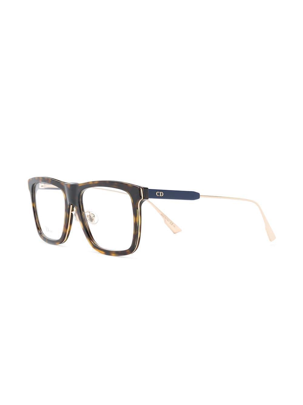 e3bb2ec0fb9 Lyst - Dior My Dior 1 Glasses in Brown
