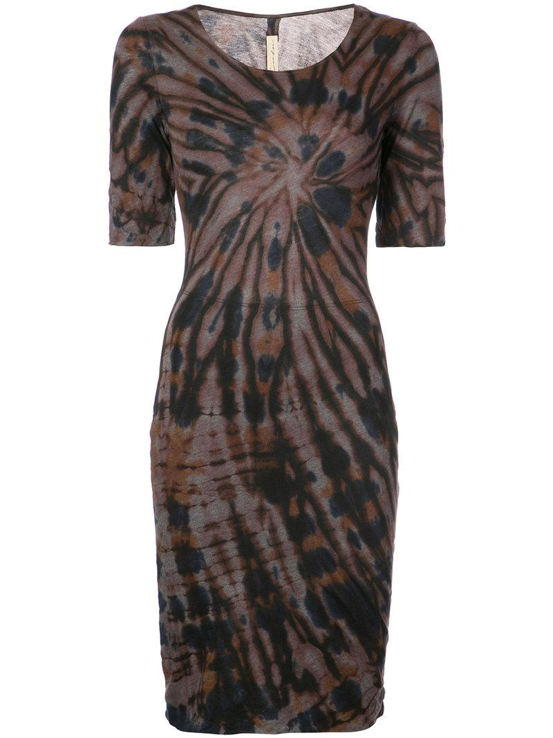 Raquel Allegra fitted silhouette dress Clearance Geniue Stockist Cheap Sale For Sale Exclusive Online Cheap Newest p1aRGnL3