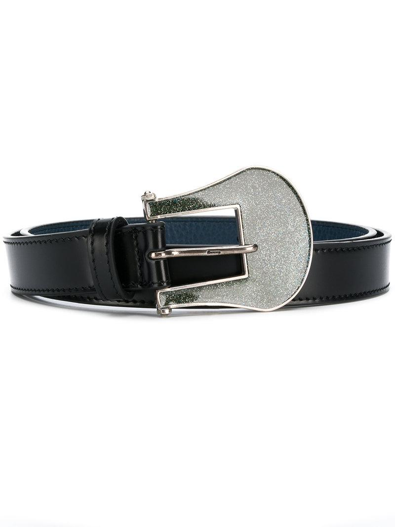 Deals Cheap Price Good Selling Golden Goose Deluxe Brand glitter buckle belt Sale Purchase Outlet Visit New QpvBc