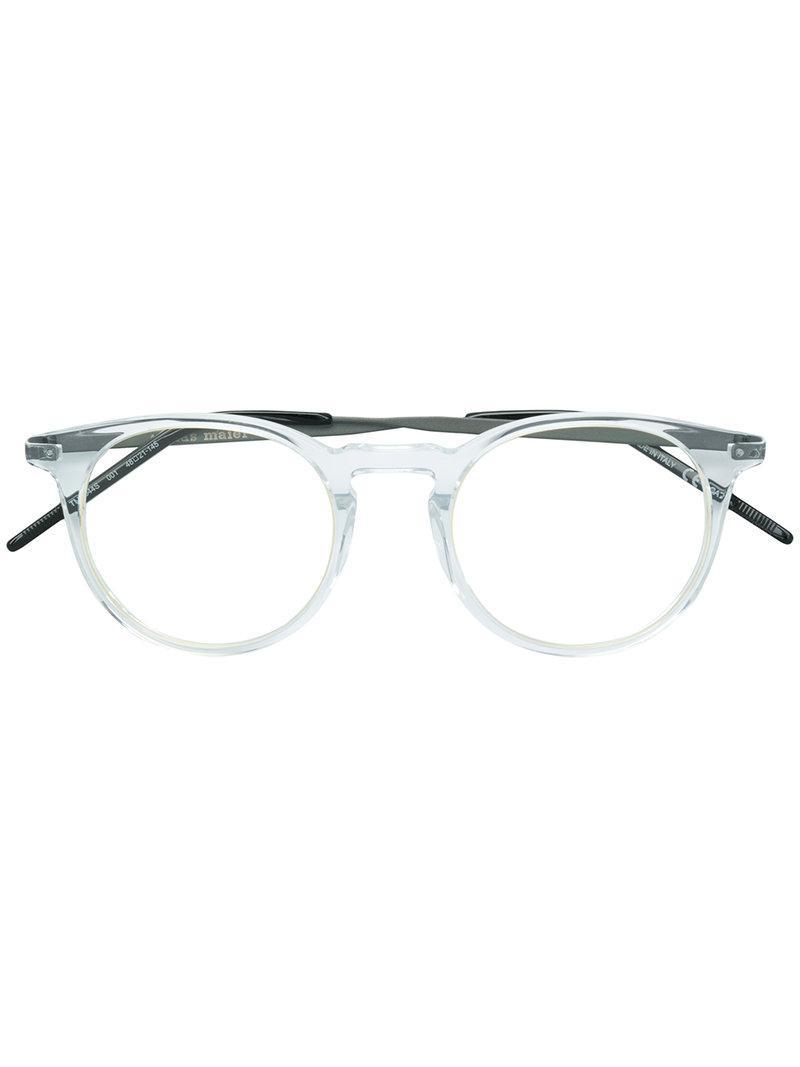 86f2b389b44 Tomas Maier Round Sunglasses in Metallic - Lyst