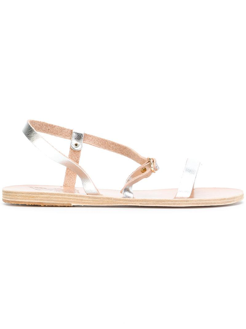 Comprar Barato Exclusiva Ancient Greek Sandals Sandali piatti 'Niove' - Metallic farfetch beige Navegar Salida QjzxuEql