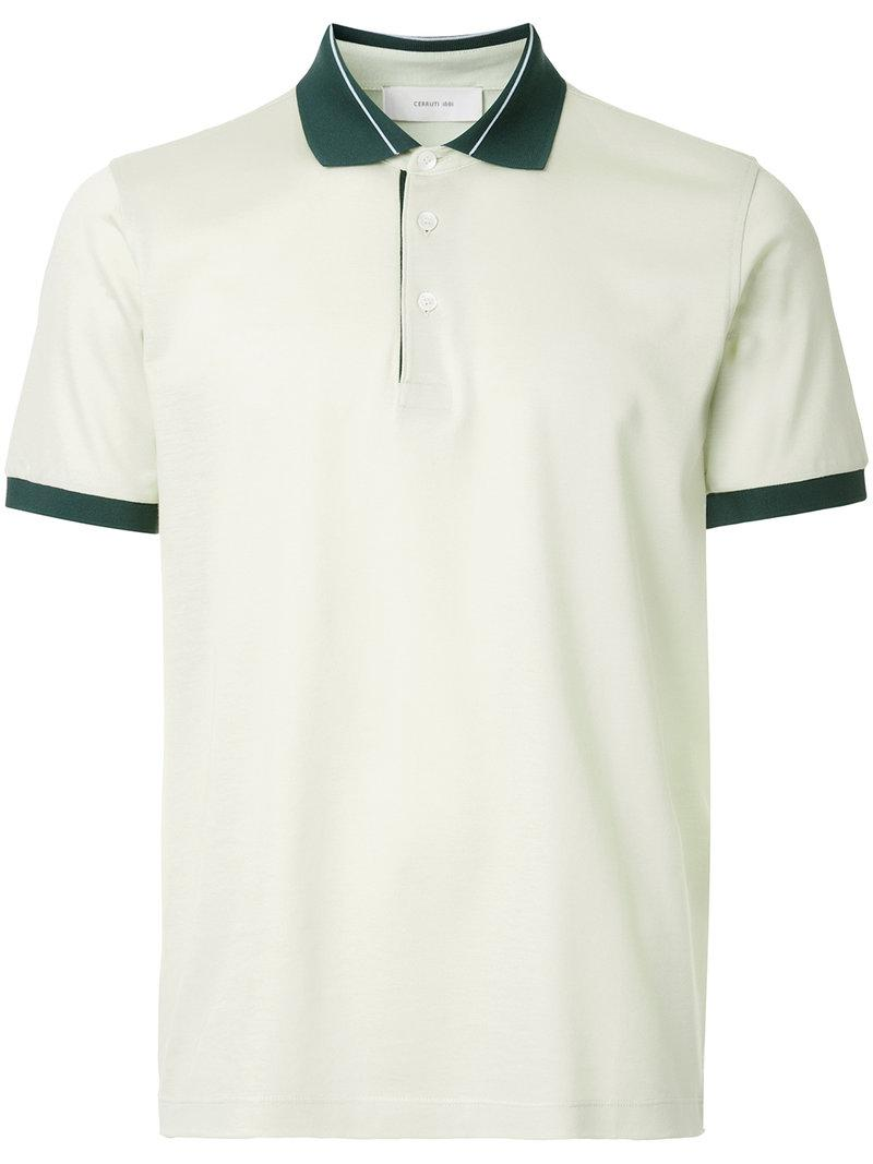 Outlet Looking For Online Cheap polo shirt - Green Cerruti EeG1qmkyI