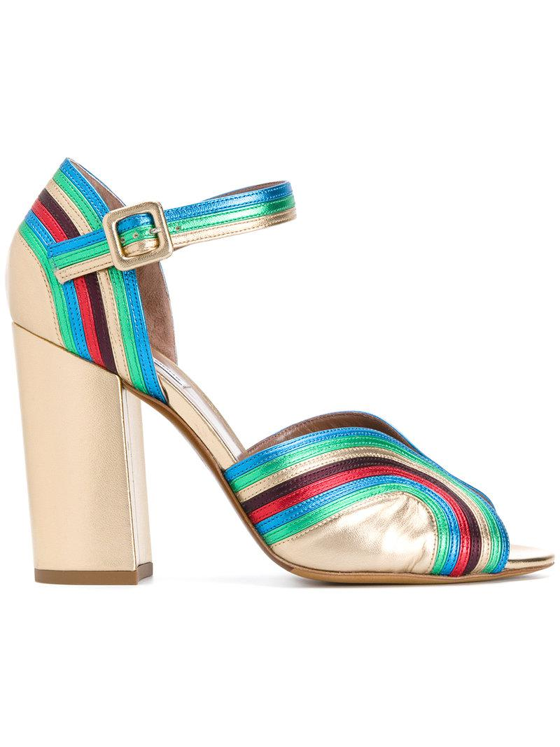 strappy open toe pumps - Multicolour Tabitha Simmons