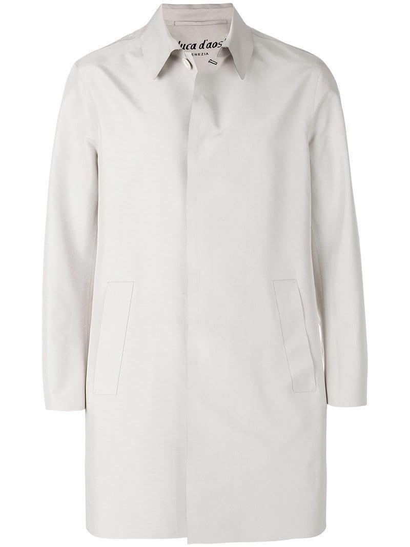 41727eb917 Lyst - Al Duca D Aosta Single Breasted Coat for Men