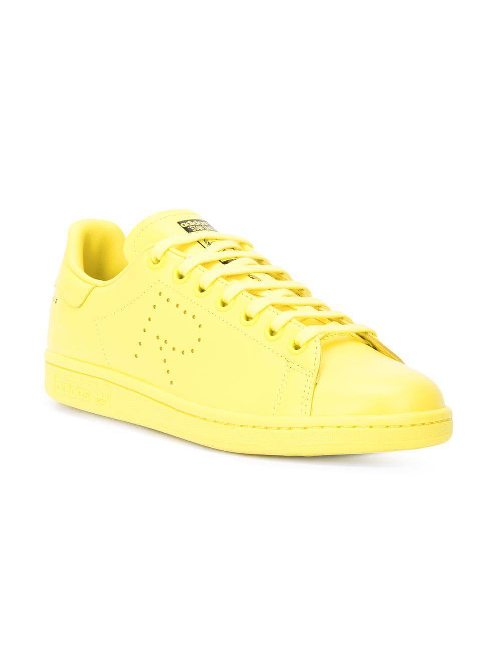 20ecbbf29cc964 Lyst - adidas By Raf Simons R Logo Stan Smith Sneakers in Yellow