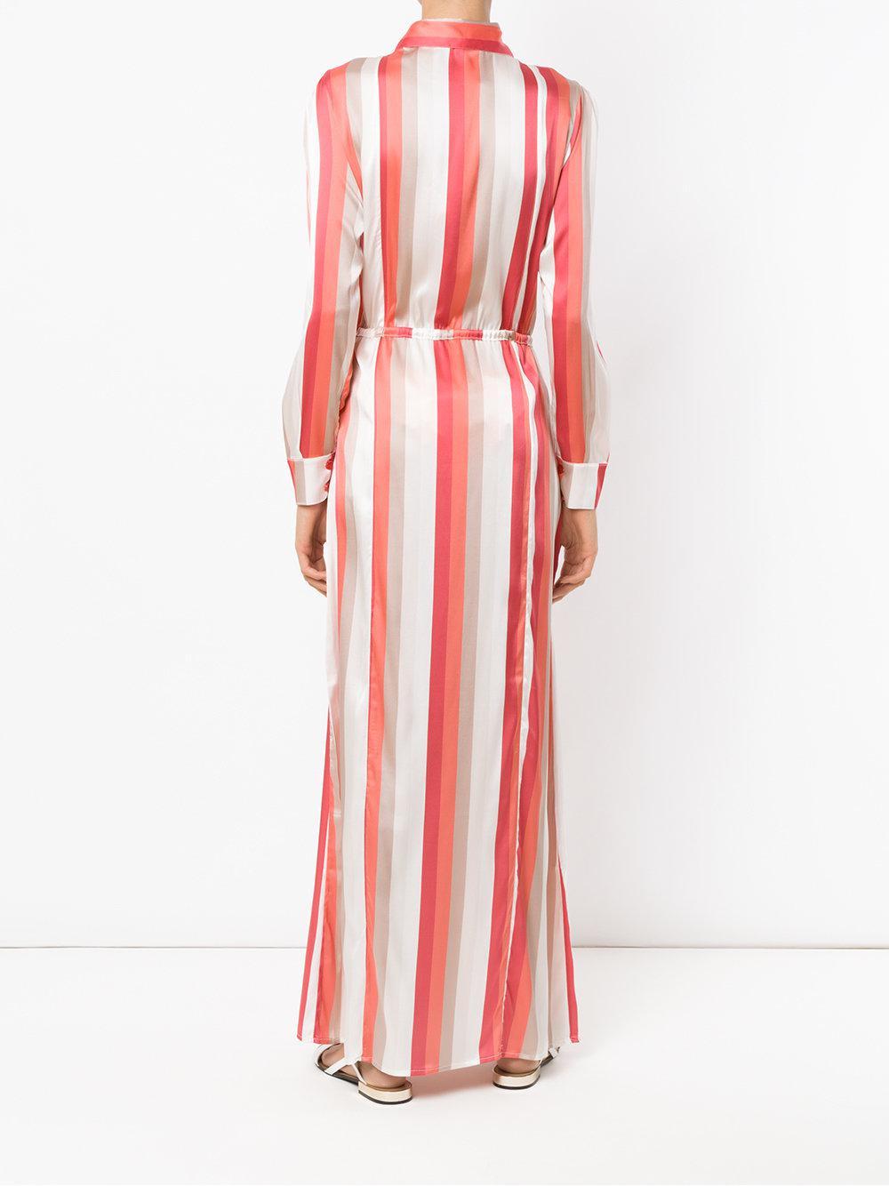 Discount View Buy Cheap Shop Offer silk beach dress - Multicolour Amir Slama Cost 9ef9S