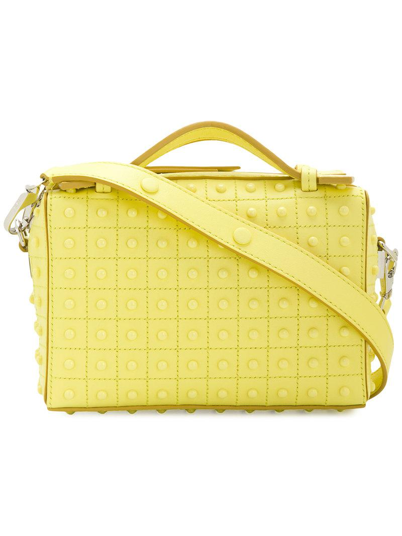 e2a5ddfed9a7 Lyst - Tod S Gommino Mini Bag in Yellow