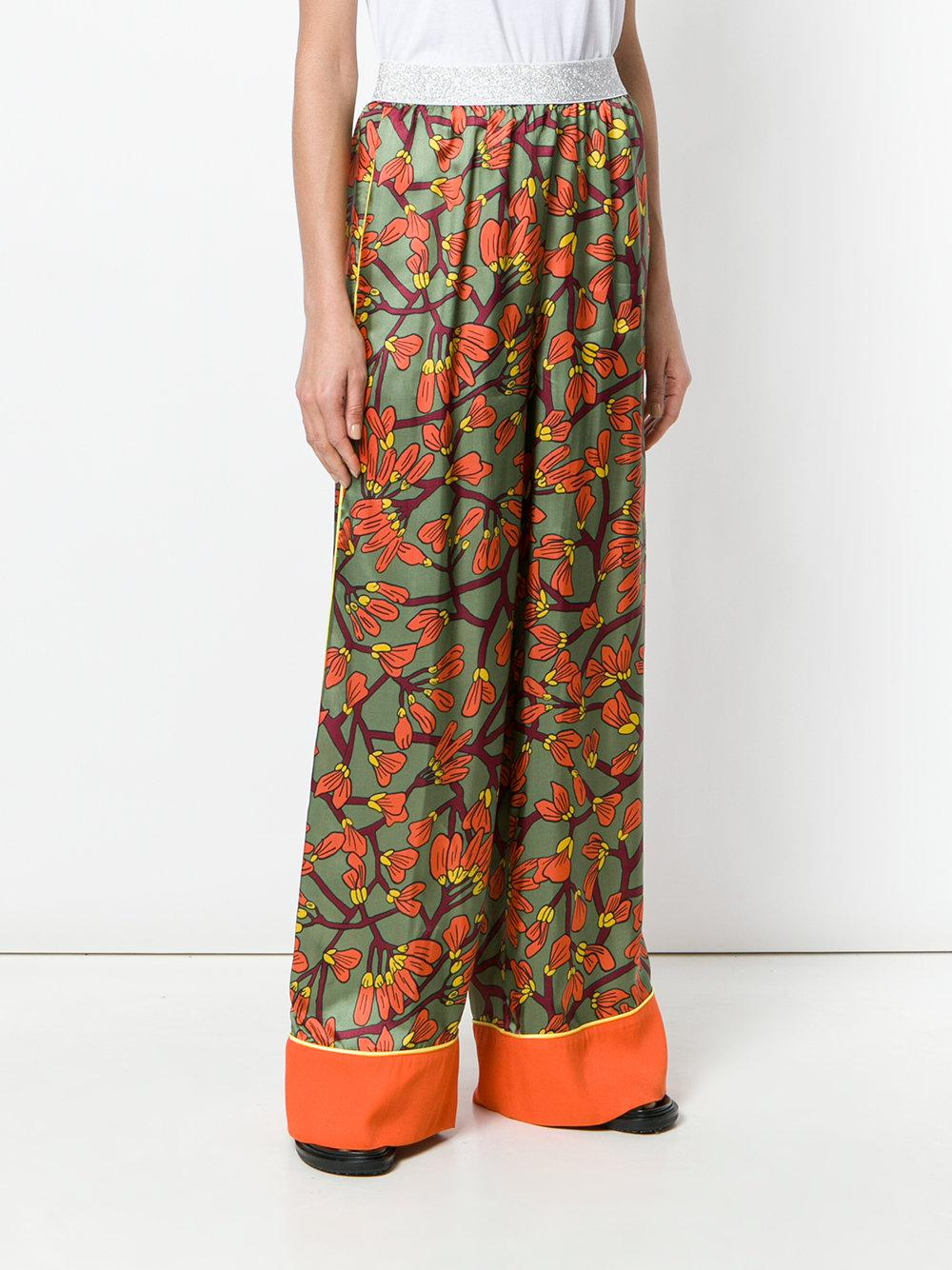 floral print palazzo trousers - Multicolour I'm Isola Marras 8rBnRk2ra