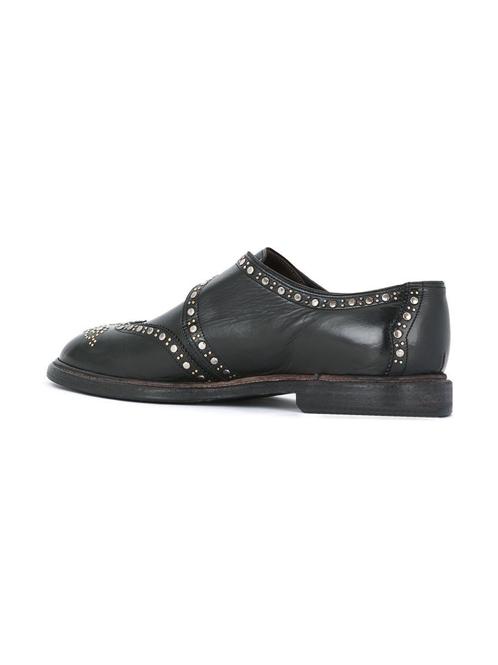 Dolce & Gabbana Cloutés Chaussures Moine - Noir xT4XpaXDc7