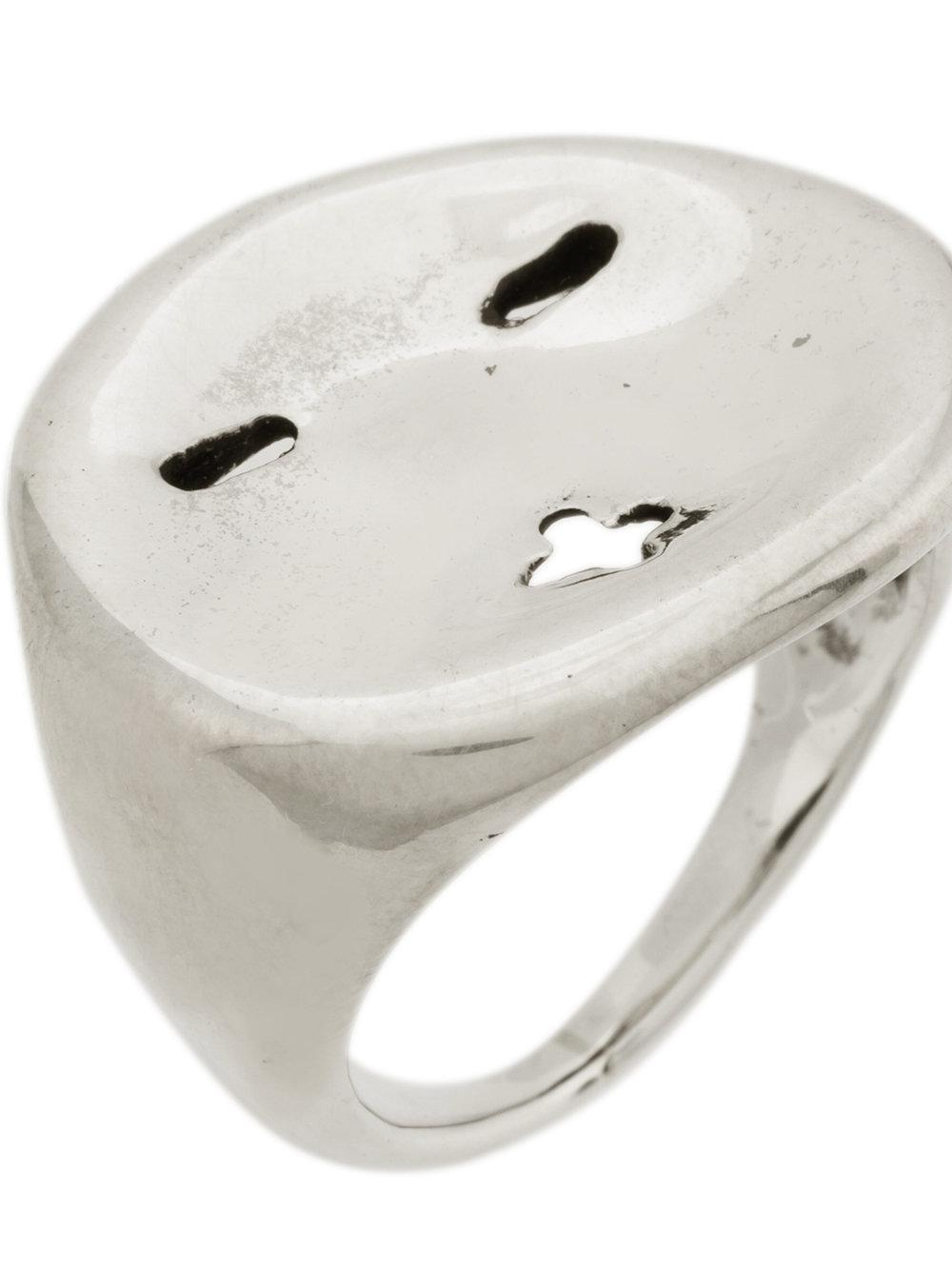 Société Anonyme Face ring - Metallic dcALNtElg5