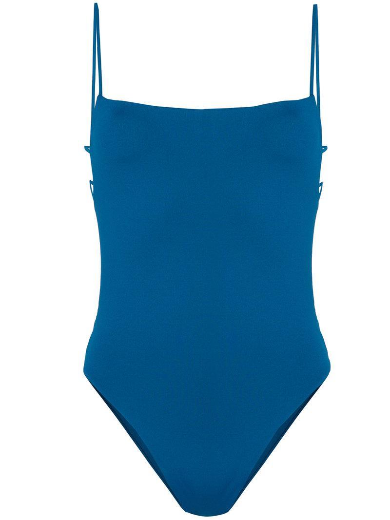 154bc9886f277 Lyst - Sian Swimwear Kathrine One-piece in Blue