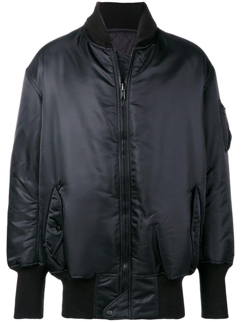 b3546fadc889 Y-3 Y3 Adidas X Yohji Yamamoto Rear Logo Bomber Jacket in Black for ...