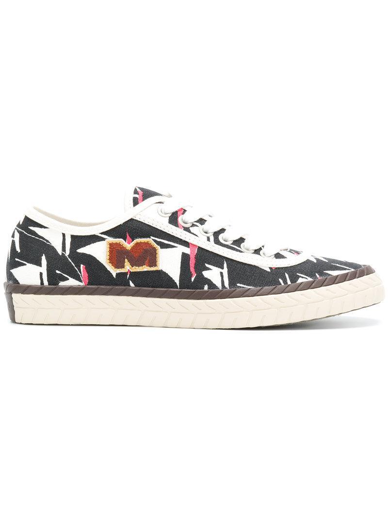 M logo sneakers - Black Marni OvGtxIC