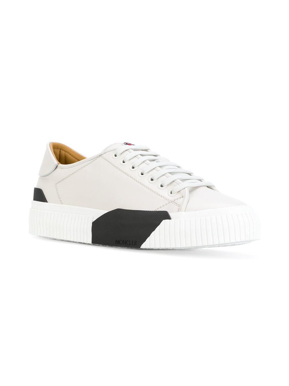 653003a188eb Lyst - Moncler Conrad Platform Sneakers in White for Men