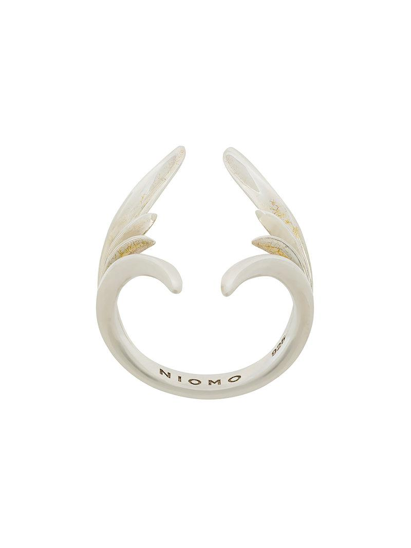 Niomo Nypa ring - Metallic PTR8HqJ