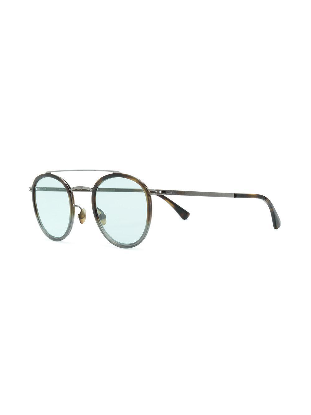 Mykita Round Frame In Lyst Olli Black Sunglasses qSqaTwB