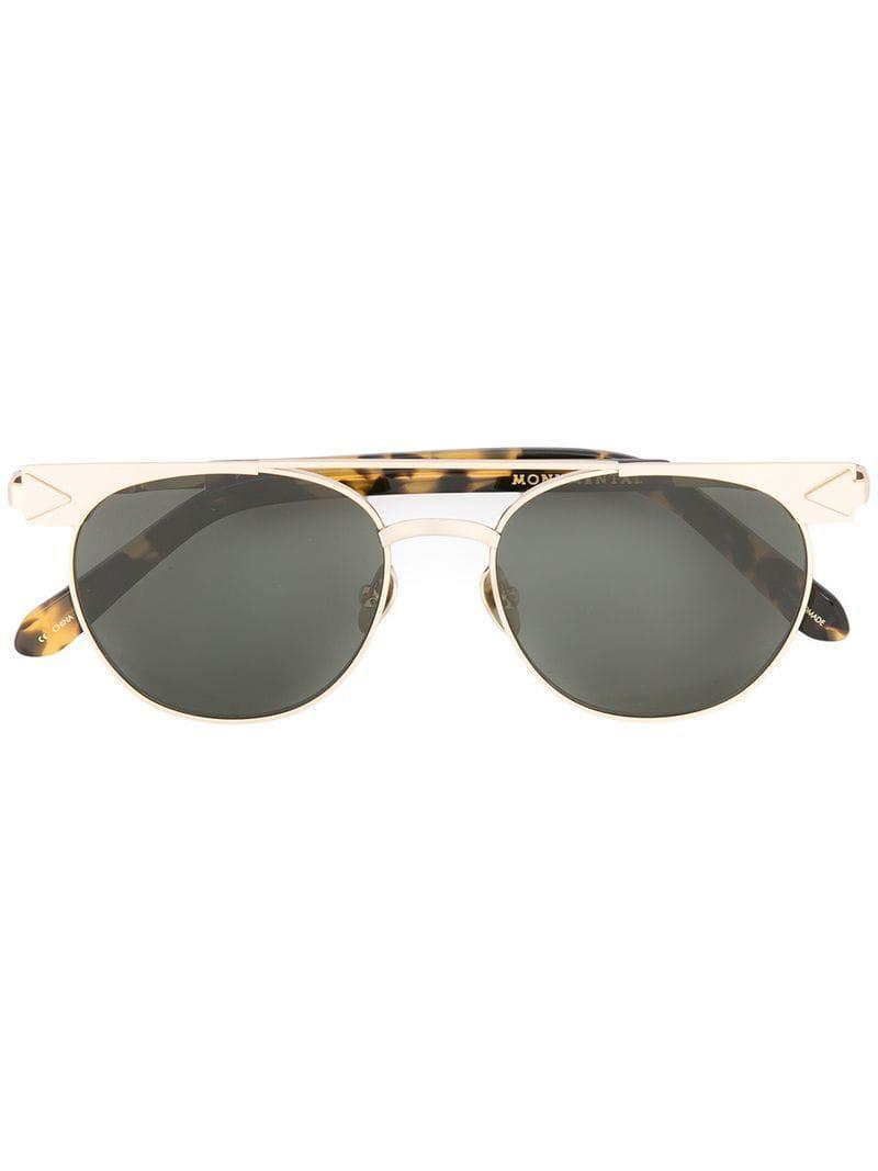 b5c02faab3 Lyst - Karen Walker Jackson Sunglasses in Metallic for Men