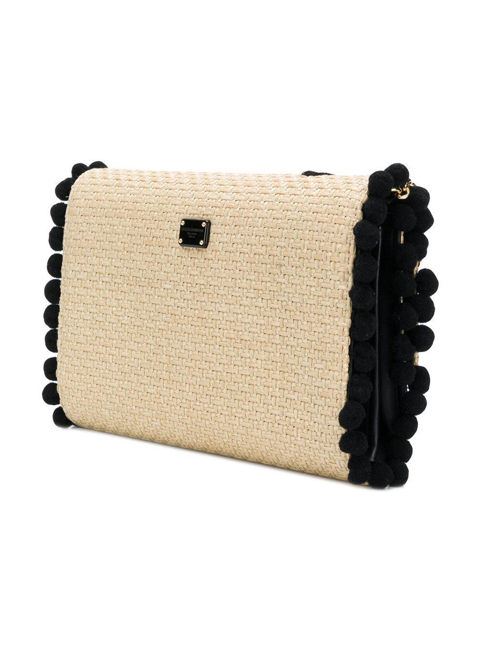 Love woven shoulder bag - Nude & Neutrals Dolce & Gabbana 1uSo9