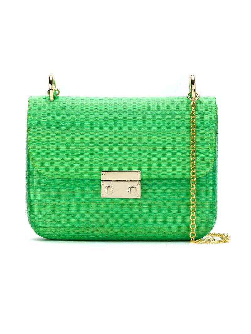 shoulder bag - Green Serpui pVBNsv