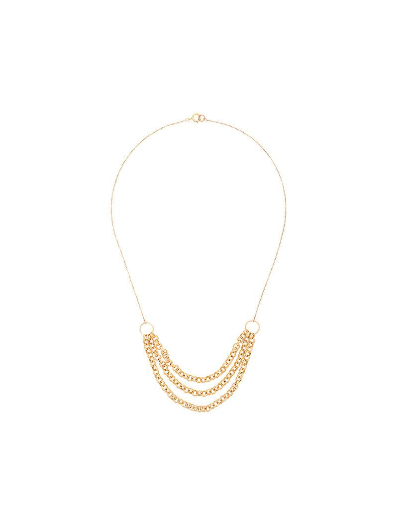PetiteGrand Three Layered Miro necklace - Metallic Xsqtkq4G