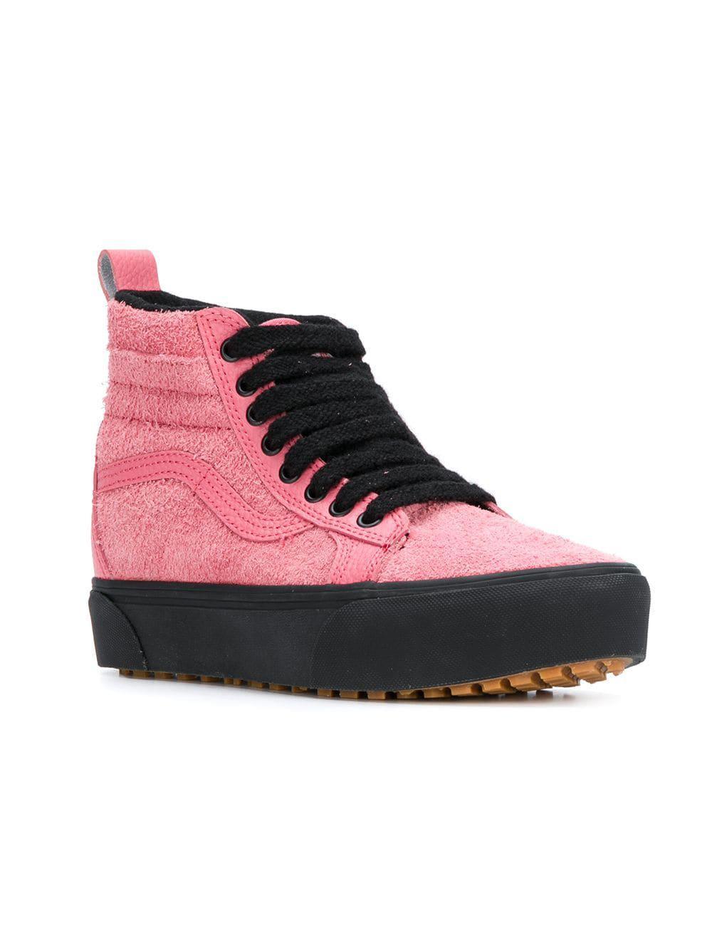ac9eec1106d286 Lyst - Vans Sk8-hi Platform Mte Sneakers in Pink for Men