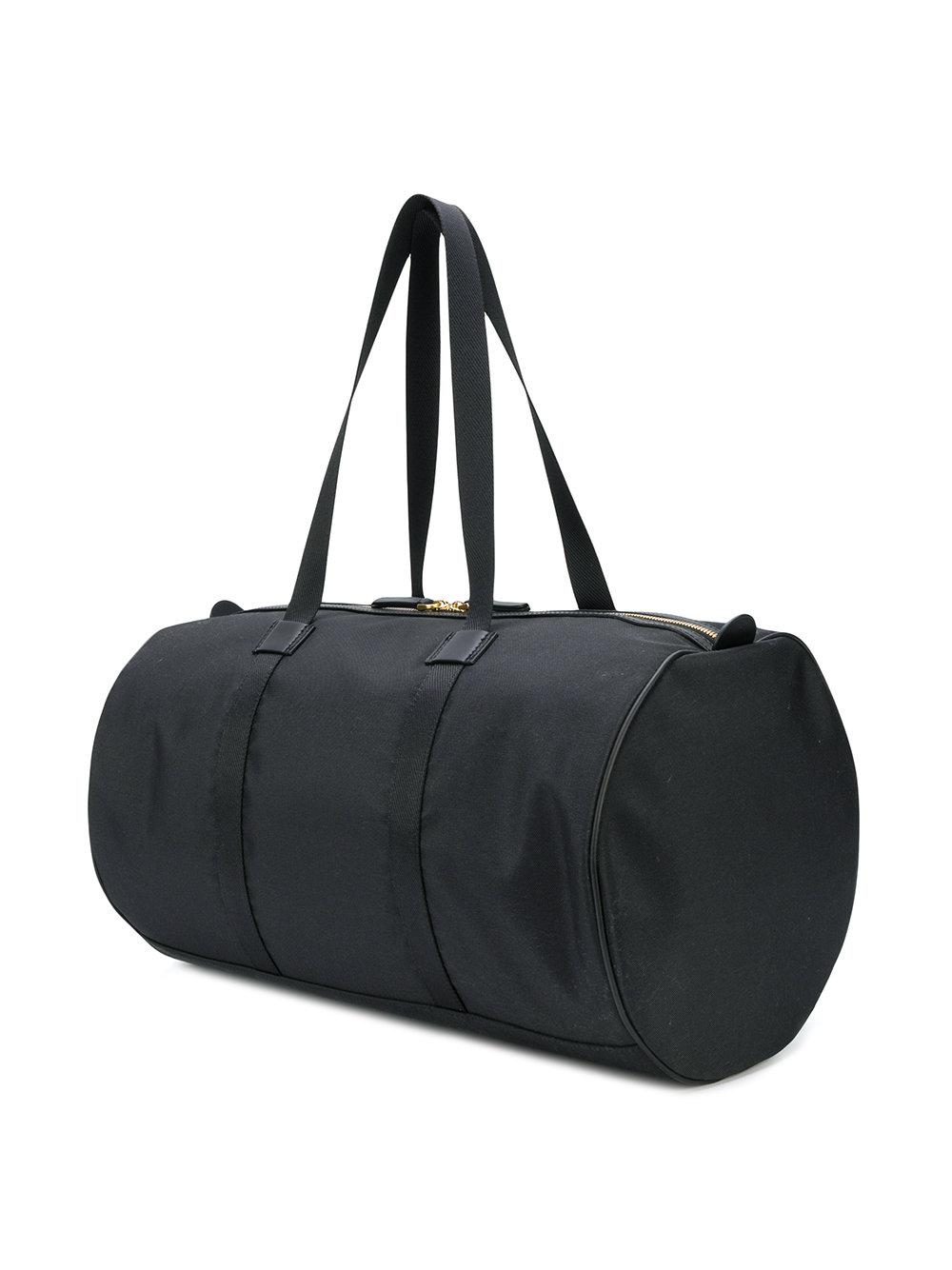 dd2c0ef0017c Thom Browne Unstructured Small Gym Bag In Nylon Plain Weave in Black ...