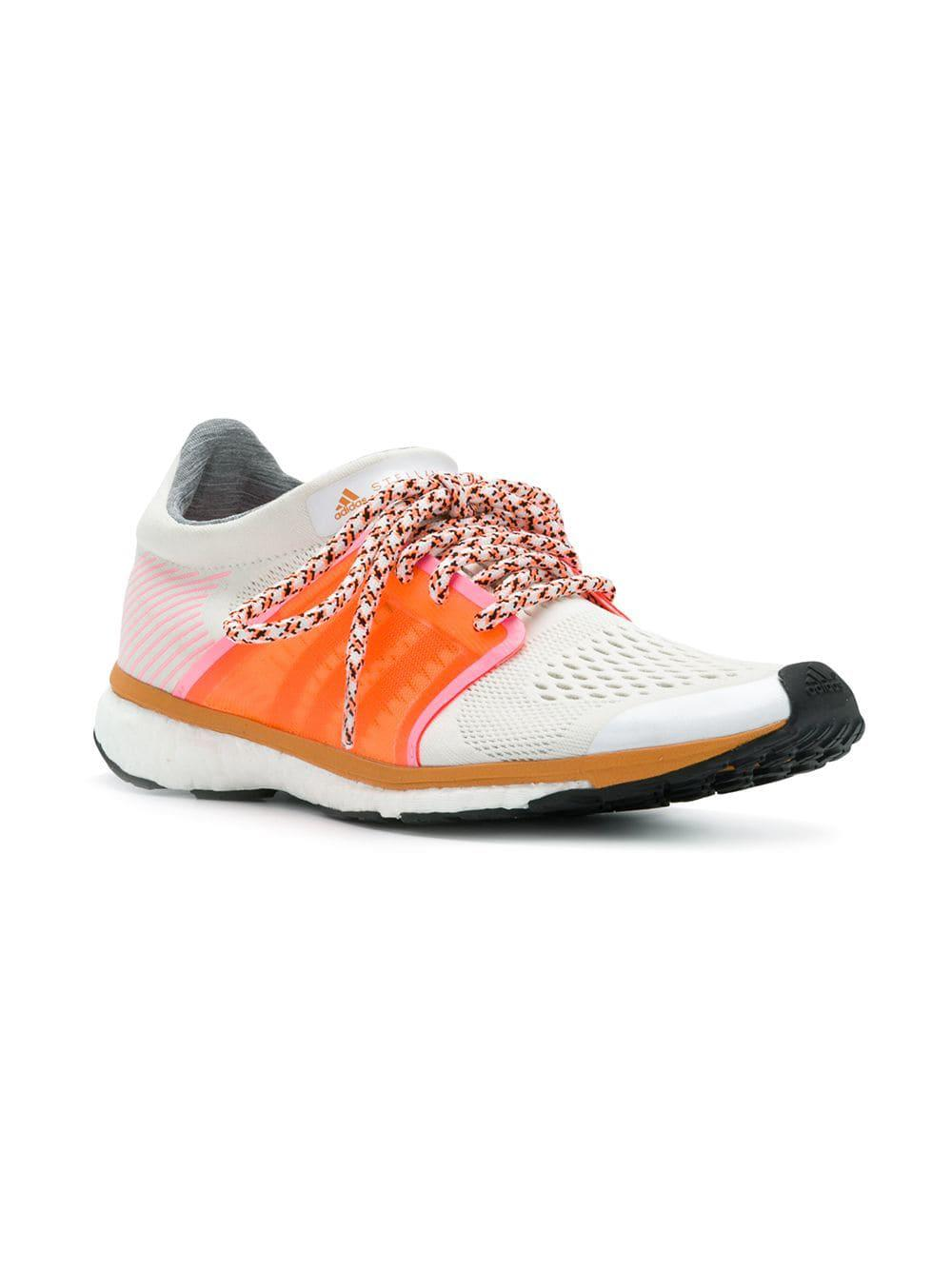 2cc477de9 Lyst - adidas By Stella McCartney Panelled Colour-block Sneakers in White -  Save 49%