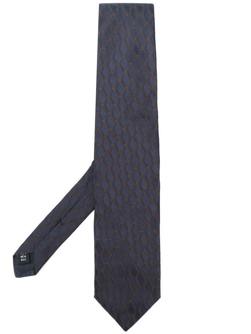silk tie - Blue Fashion Clinic Timeless cXcnQn