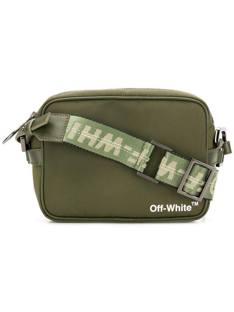 c317da2e8b65 Lyst - Off-White c o Virgil Abloh Branded Shoulder Bag in Green for Men