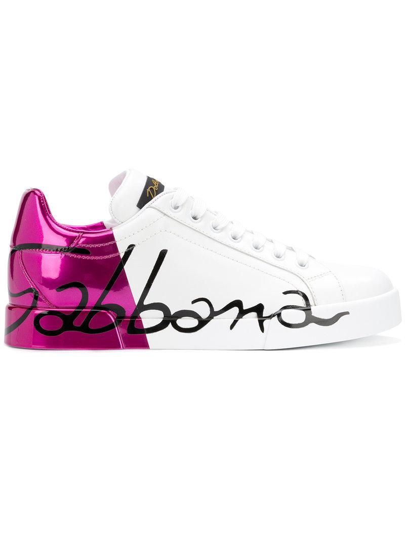 Dolce & Gabbana metallic heel sneakers clearance latest collections best wholesale cheap price buy cheap sneakernews free shipping clearance store oFqw6CpNsW