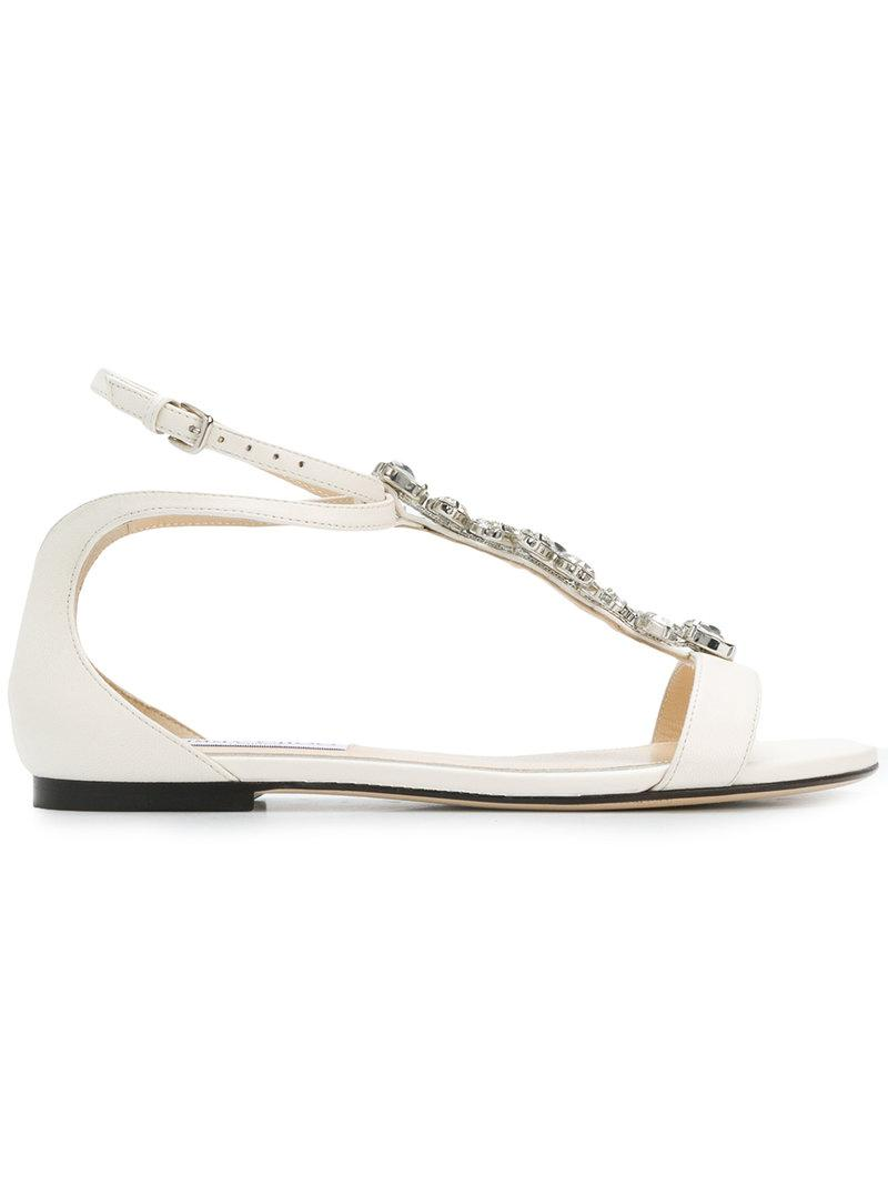 Averie flat sandals - Black Jimmy Choo London fVQRl6