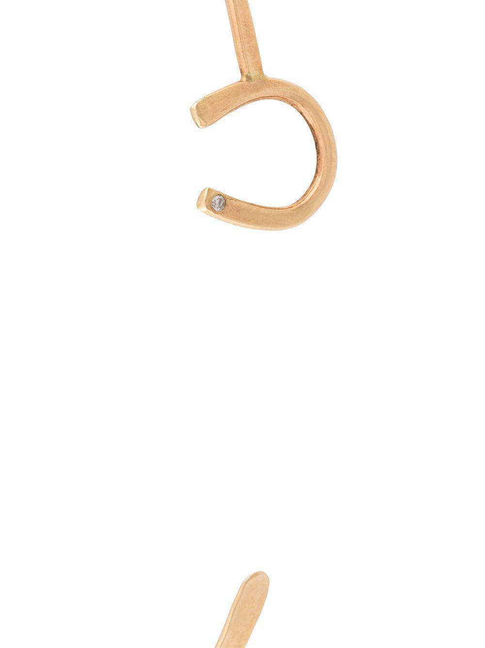 diamond horseshoe cuff bracelet - Yellow & Orange Melissa Joy Manning S6Td4Y