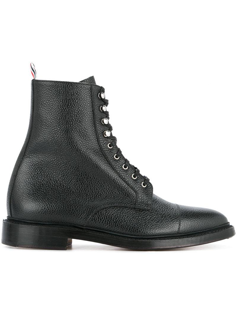 Thom BrowneLeather Lace Ups