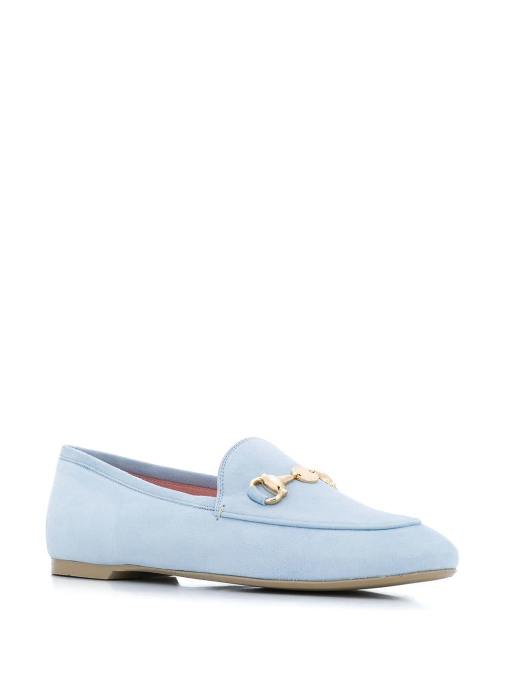 e6e7c4c6a14 Lyst - Pretty Ballerinas Horsebit Loafers in Blue