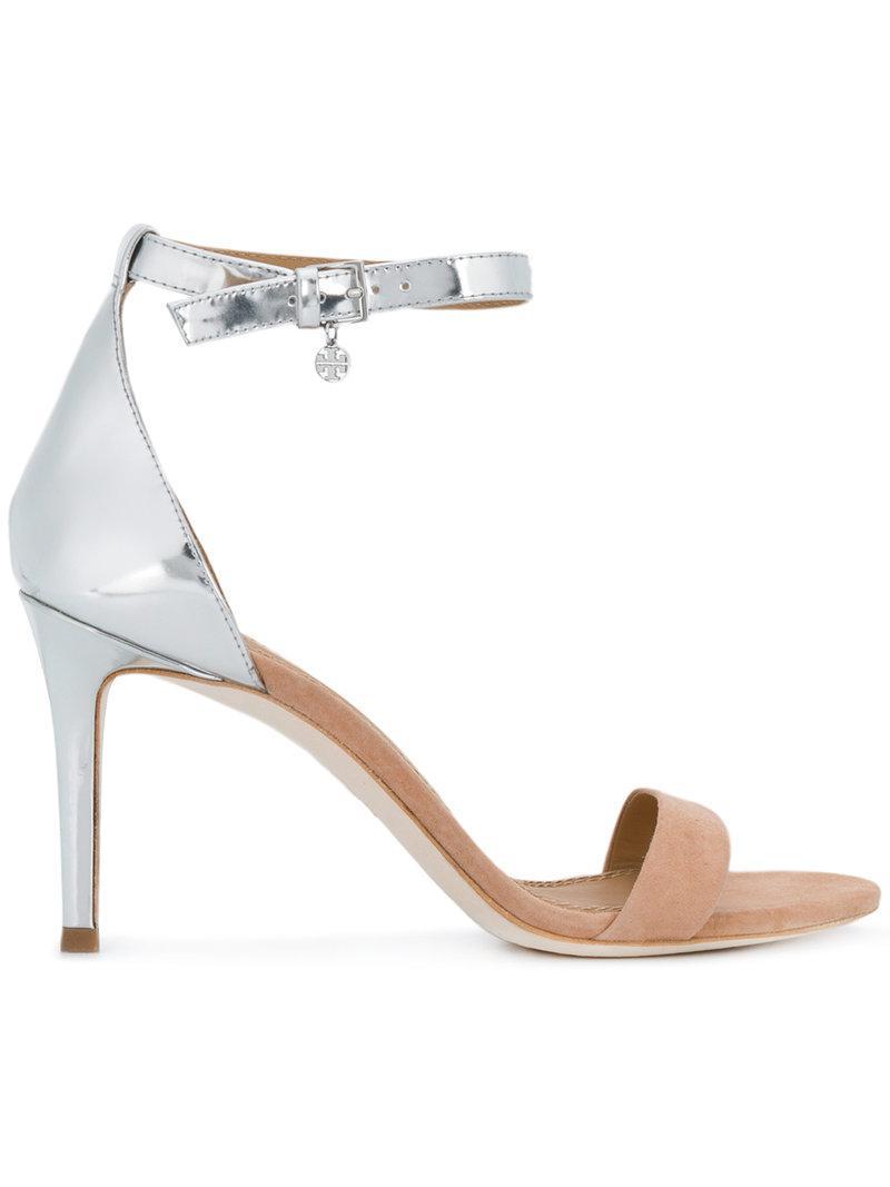 Ellie colour-block ankle-strap sandals - Pink & Purple Tory Burch 7bVuGDmkx