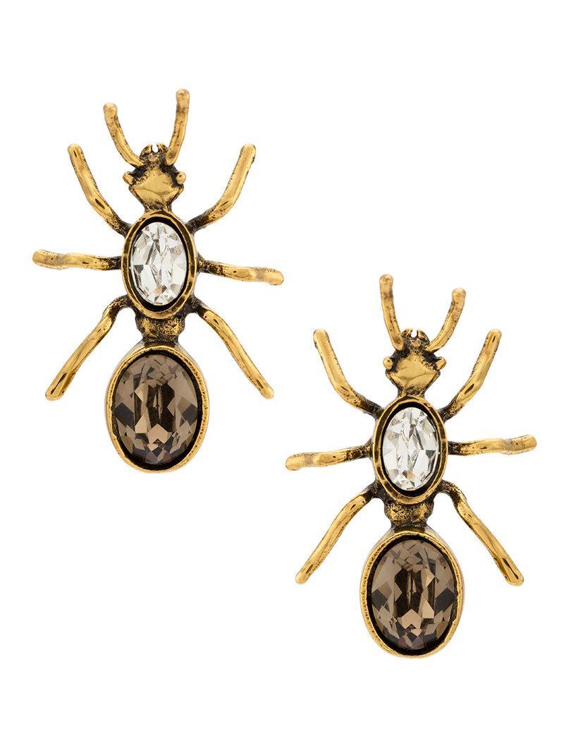 Camila Klein medium Formiga earrings - Metallic rJ53OgC0
