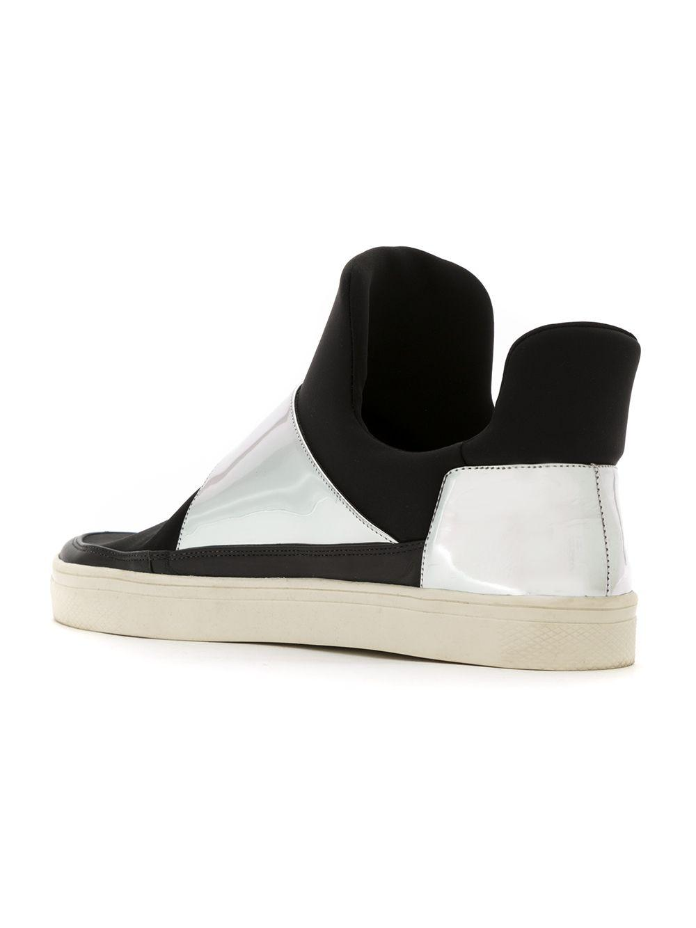 Gloria Sneakers Black Coelho Ankle Lyst In Length dwOTdI