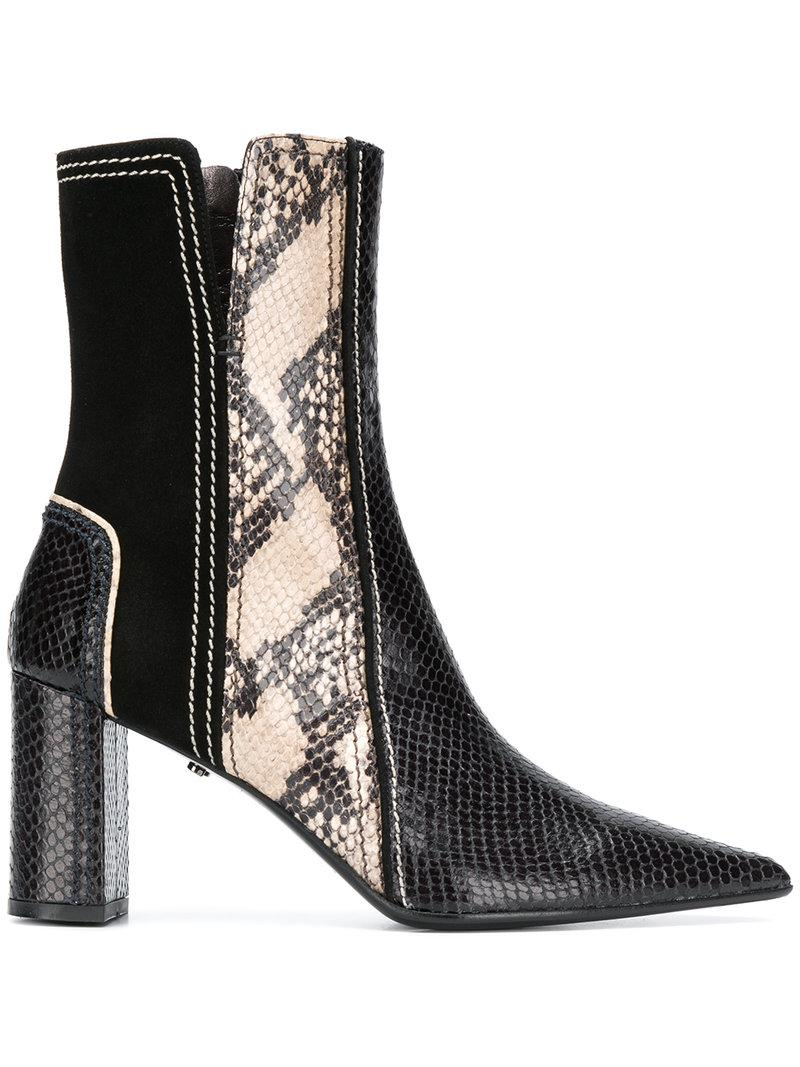 Dorothee Schumacher snake-effect ankle boots quality outlet store vgdPNh